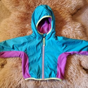 North Face 3-6 month Reversible Jacket Blue/Purple